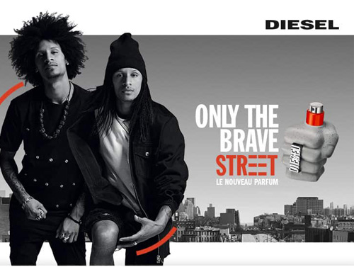 Only The Brave Street DIESEL - incenza