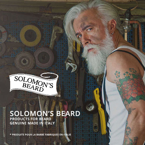 Solomon's Beard - Produits pour la Barbe