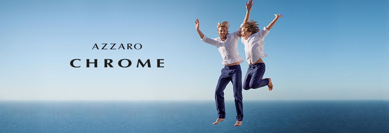 Azzaro Chrome, toute la ligne de parfums pour homme AZZARO sur incenza.com