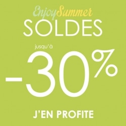 Enjoy summer SOLDES -30%