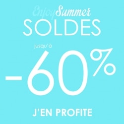 Enjoy summer SOLDES -60%