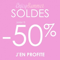 Enjoy summer SOLDES -50%