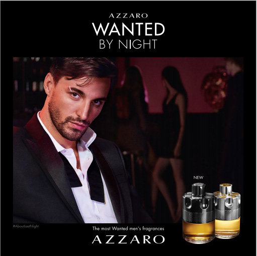 Azzaro Wanted by Night AZZARO, La Nuit lui appartient