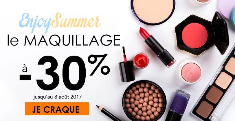 SOLDES -30% sur le Maquillage - INCENZA