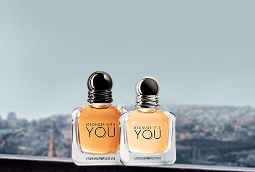 You - Because it's you - Stronger with you - EMPORIO ARMANI - Incenza