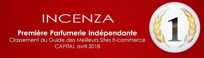 INCENZA CLASSÉE PREMIÈRE PARFUMERIE INDEPENDANTE