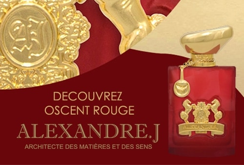 Oscent Rouge Eau de Parfum ALEXANDRE J.