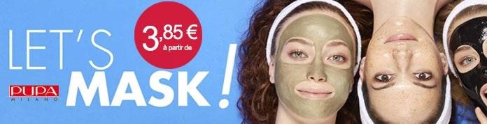 Pupa Mask à partir de 3€85 sur INCENZA